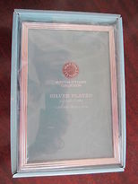 Martha Stewart Collection Silver Plated Cascade Frame 4x6 In Box