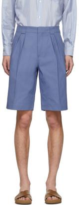 Jacquemus Blue Le Short De Costume Shorts
