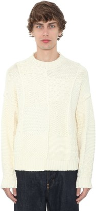 J.W.Anderson Patchwork Cotton Knit Sweater