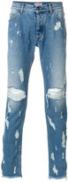 Palm Angels distressed jeans - men - Cotton/Polyester - 31