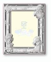Silver Touch USA Sterling Silver Angels Picture Frame