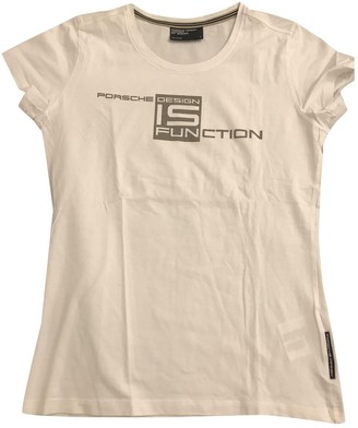Porsche Design White Cotton Top for Women