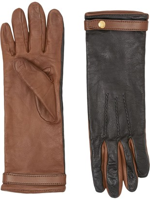Burberry Two-Tone Gloves