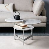 Tiered Circles Coffee Table - Marble