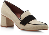 Tabitha Simmons Margot Heeled Loafers
