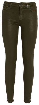 7 For All Mankind Leather Coated Skinny Jeans