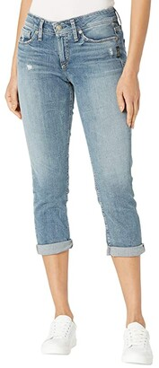 Silver Jeans Co. Suki Mid-Rise Capri Jeans L43916SJL276 (Indigo) Women's Jeans