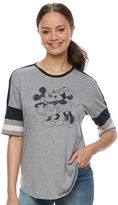 Disney Disney's Mickey & Minnie Mouse Juniors' Vintage Graphic Tee
