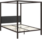 Modway Raina Queen Canopy Steel Bed Frame