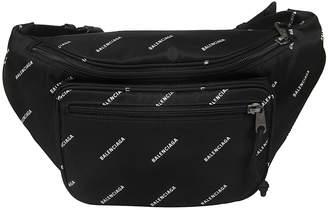 Balenciaga Logo Motif Belt Bag