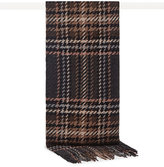 Reiss Sloane Houndstooth Wool Scarf