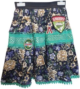 Lm Lulu Multicolour Cotton Skirt for Women