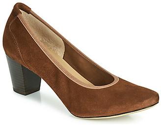 Perlato 10362-CAM-COGNAC women's Heels in Brown