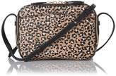 LK Bennett Mariel Animal Print Leather Shoulder Bag