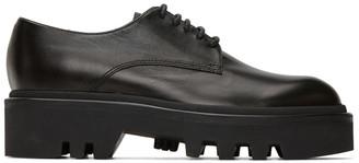 Dries Van Noten Black Leather Oxfords