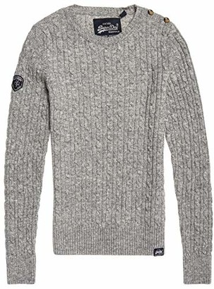 Superdry Women's CROYDE Cable Knit Sweater