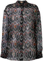 Giambattista Valli geometric print shirt - women - Silk - 44