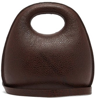 Lemaire Egg Leather Bag - Dark Brown