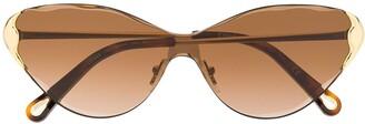 Chloé Eyewear Curtis cat-eye frame sunglasses