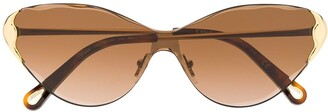 Chloé Curtis cat-eye frame sunglasses