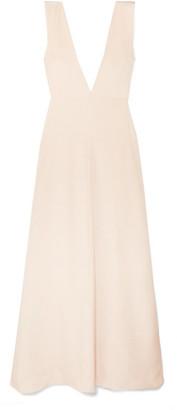Michael Lo Sordo Silk-satin Maxi Dress - Neutral