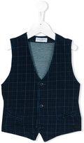 Paolo Pecora checked waistcoat - kids - Cotton/Spandex/Elastane - 6 yrs
