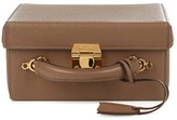Mark Cross Grace large grained-leather box bag