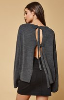 Lucca Couture Sophie Tie Back Sweater