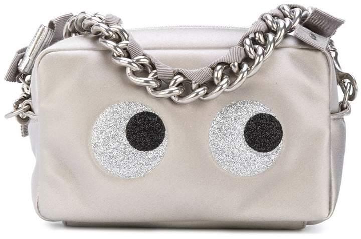 Anya Hindmarch eyes motif zipped clutch