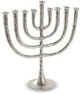 Mud Pie Hanukkah Collection Hammered Metal Menorah