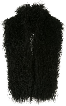 Ann Demeulemeester colour block waistcoat