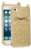 Kate Spade Glitter Cat Iphone 7 Case - Metallic
