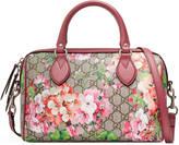 Gucci Blooms GG Supreme top handle bag