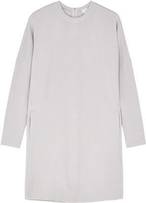 MAX MARA LEISURE Udito Light Grey Stretch-jersey Dress