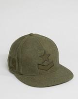 Diesel Cistarres Wool Baseball Cap