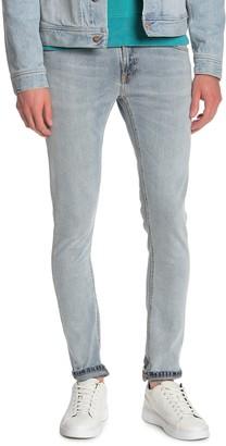 """Nudie Jeans Lin Distressed Skinny Leg Jeans - 30-34"""" Inseam"""