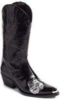 Calvin Klein Women's Tex Tubo Western Boot