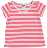 Erge Striped Tee (Toddler/Kid) - Neon Pink-6