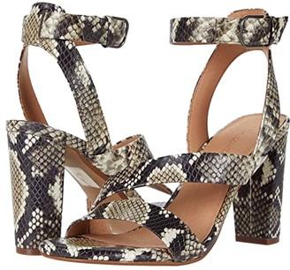Madewell Liv Asymmetrical Sandal (Heather Natural Multi) Women's Shoes