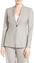 EMERSON ROSE Sabrina One-Button Suit Jacket