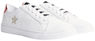 Tommy Hilfiger Star Metallic Detail Trainers