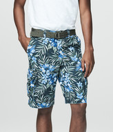 Cape Juby Tropical Belted Cargo Shorts