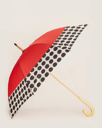 ShedRain Manual Umbrella With Wooden Handle