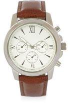 River Island MensLight brown Roman numeral watch