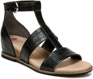 Dr. Scholl's Ankle Strap Wedge Sandals - Free Spirit