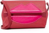 Sara Battaglia Lips Cross Body Bag