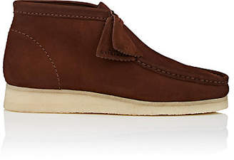 Clarks Men's BNY Sole Series: Nubuck Wallabee Boots - Brown