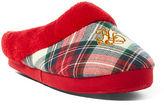 Ralph Lauren Plaid Fleece Slipper