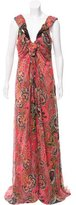 Christian Lacroix Gathered Evening Dress