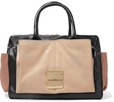 See by Chloe Nellie textured-leather duffle bag